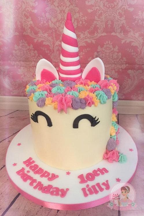 Unicorn Kids Party Cake