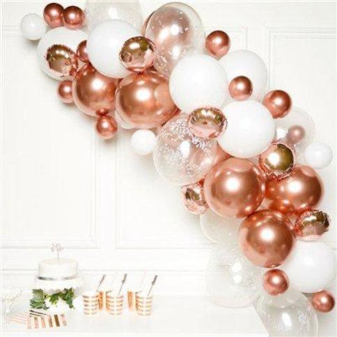 Rose Gold Half Arch Balloons