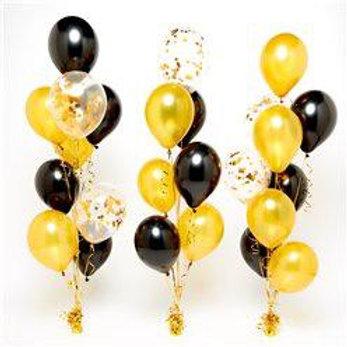 Black & Gold Table Bouquet