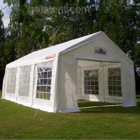 6x3m White Marquee (with matting)