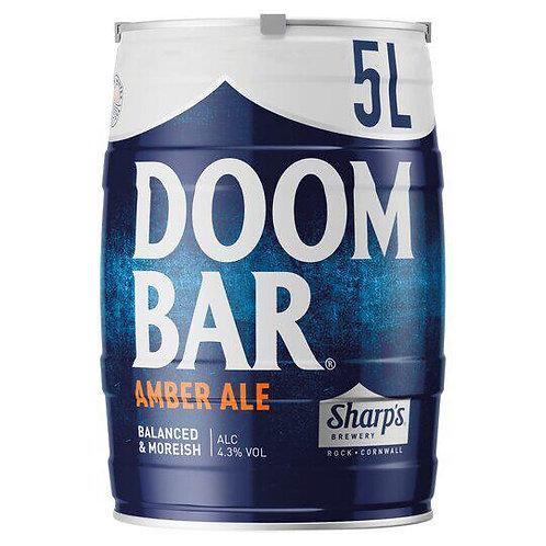 5 Litre Doom Bar Mini Keg