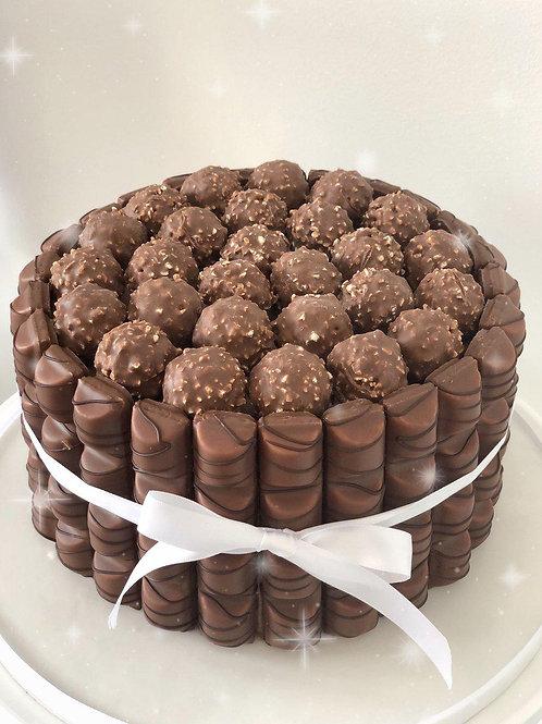 Kinder & Ferrero Cake