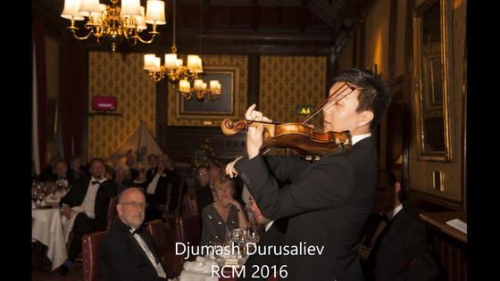 Djumash Durusaliev, aka Jimmy Poulsen (Violin)