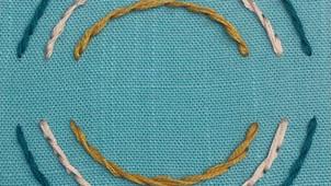 Stem stitch vs. Outline stitch