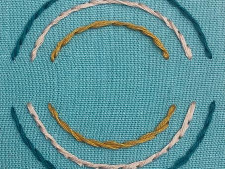 Stem stitch vs. Outline stitch