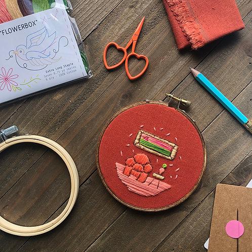 The Hopebroidery Box - February 2020!