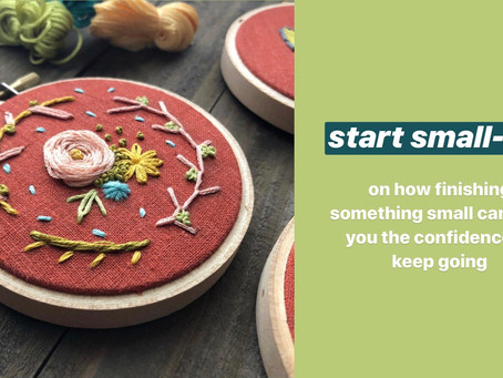 Start Small-ish