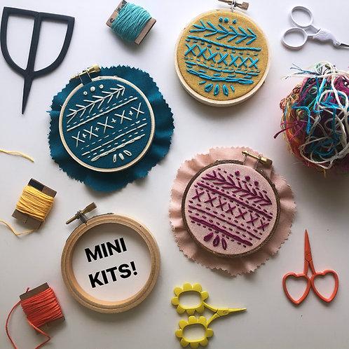 Mini Embroidery Kits
