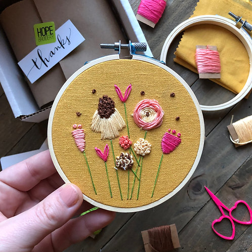 The Hopebroidery Box - March 2019