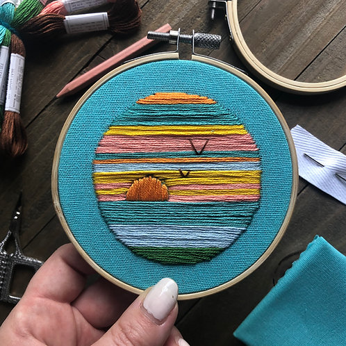 The Hopebroidery Box - July 2020!