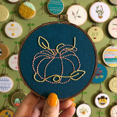 The Hopebroidery Box - October 2019!