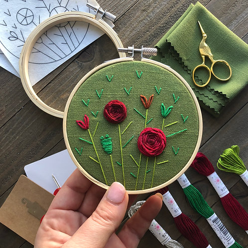 The Hopebroidery Box - December 2019!