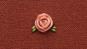 Woven wheel rosebuds!