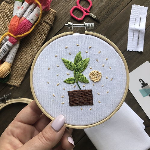 The Hopebroidery Box - August 2020!