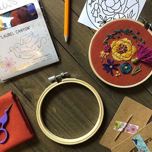 The Hopebroidery Box - August 2019