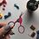 Thumbnail: Pink Stork Embroidery Scissors