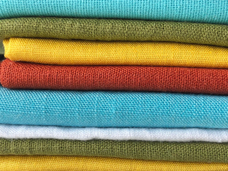 What kind of fabric should you use for hand embroidery?