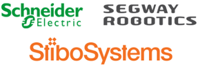Schneider Electric, Segway Robotics & StiboSystems