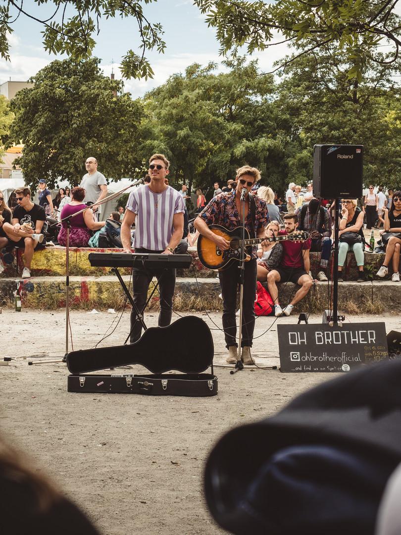 Street Musicians at Heart