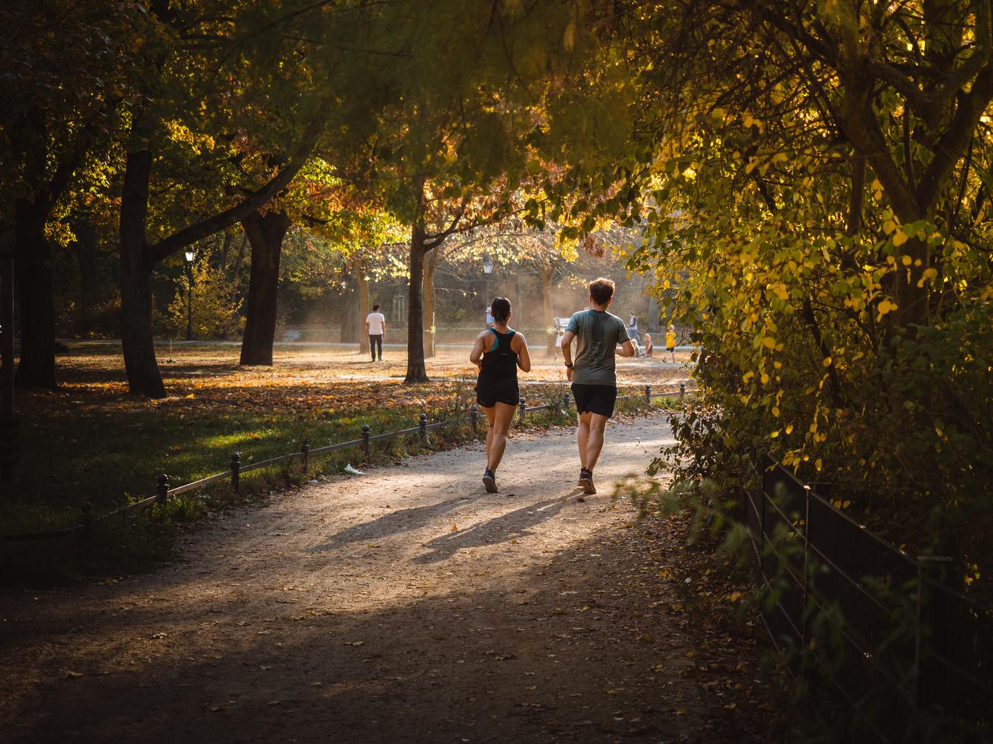 Running Through Gold