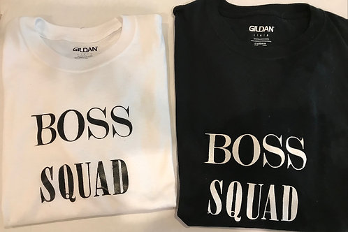 Boss Squad T-Shirt - White