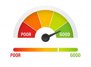 credit-score-scale-showing-good-value-il