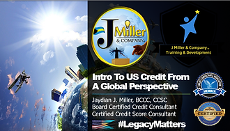 Intro To US Credit From A Global Perspec