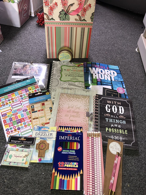 Bible Study Inspirational Stationery Gift Set