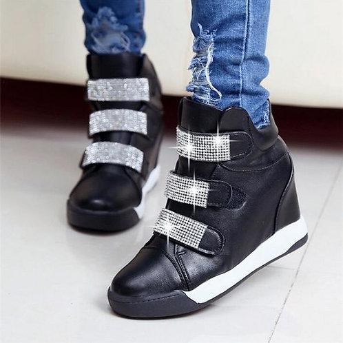 Tênis Sneakers c/ salto 7 cm FG 4005