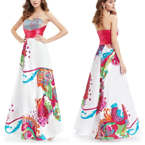 Vestido Fashion Floral FG 4482