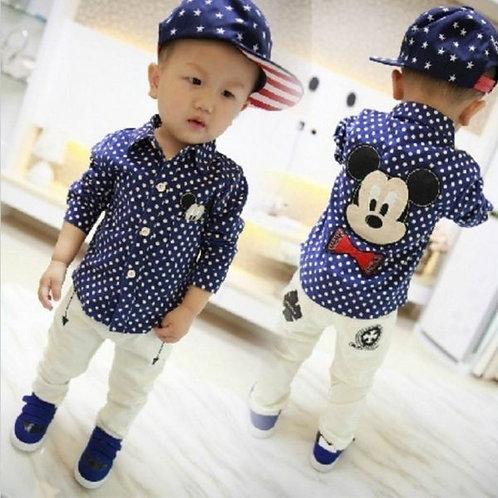 Camisa Mickey com Bordado FG 4123