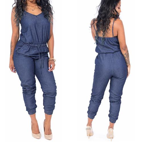 Macacão Jeans Fashion Renata FG 1908
