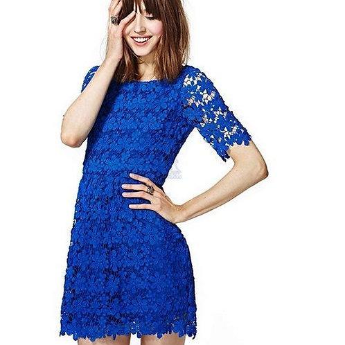 Vestido Azul Sensual  FG 926