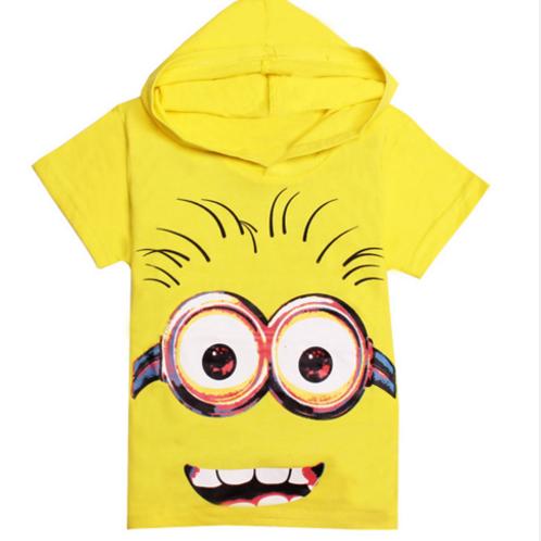 Blusa do Minion com Capuz  FG 4106