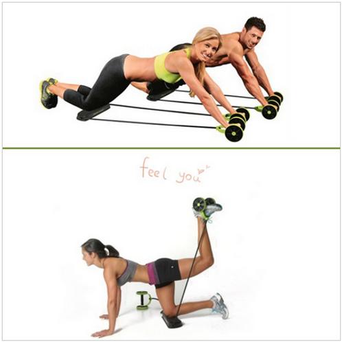 Total de Fitness Abs de resistência exercício
