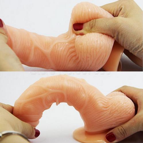 Pênis Fexível de Silicone FG 1724