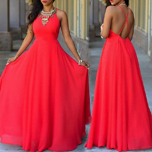Vestido Longo Glamour FG 4336