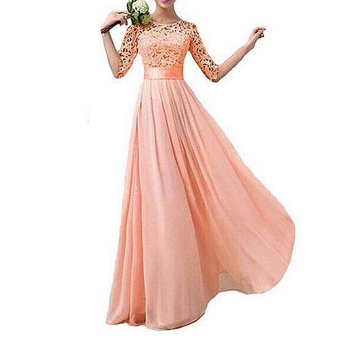 Vestido Longo Princesa FG 4272