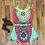 Thumbnail: Vestido Sling Tropical FG 3482