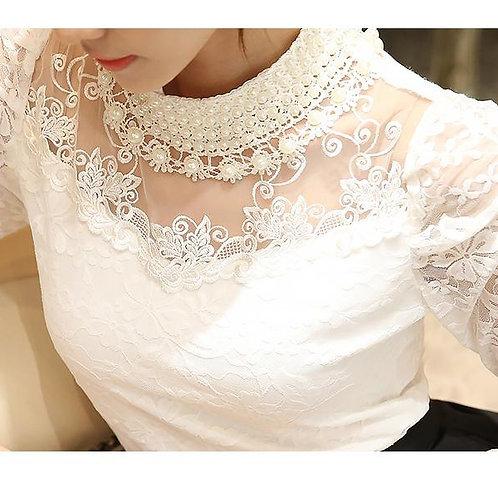 Camisa Flor Frisada FG 4354