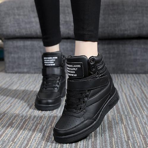 Tênis Sneakers c/ salto 7 cm FG 4004