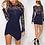 Thumbnail: Vestido Curto Fashion Renda FG 4498