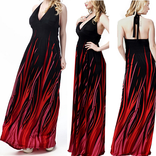 Vestido Longo Suzi Maith FG 4533