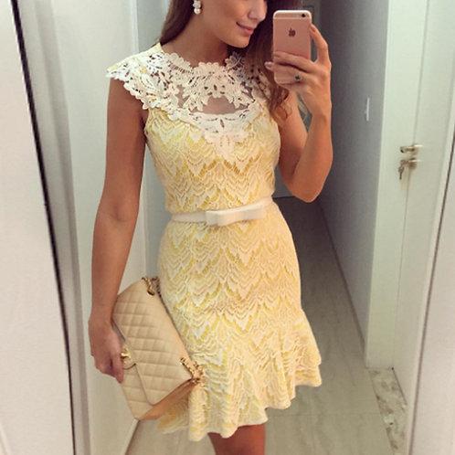 Vestido Renda Fashion  FG 4381
