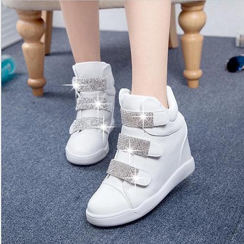 Tênis Sneakers Salto 7cm FG 1715