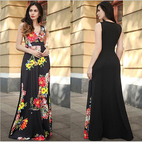 Vestido Longo Fashion Daniela FG 4552