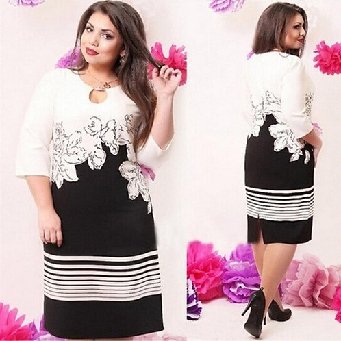 Vestido Floral FG 4197