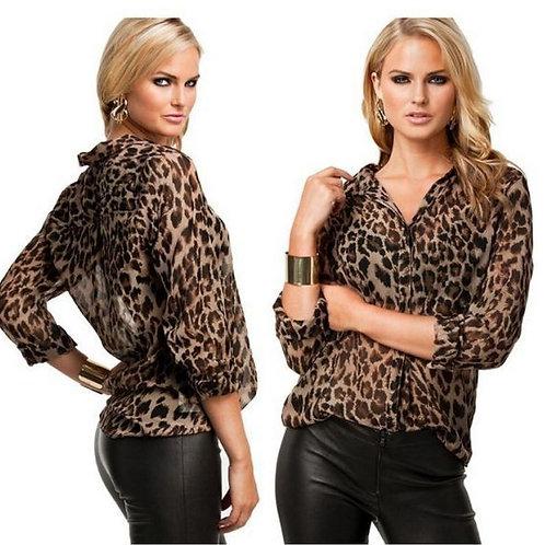 Camisa Leopardo FG 817