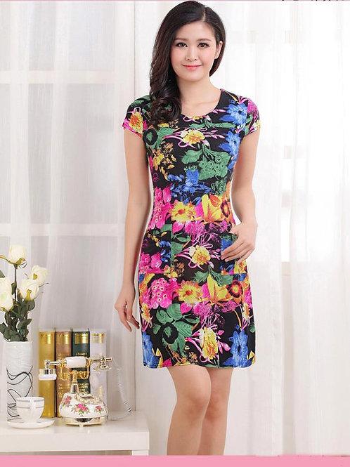 Vestido Floral FG 4209
