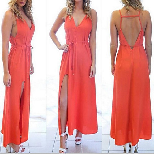 Vestido Longo Orange Sabrina FG 1749